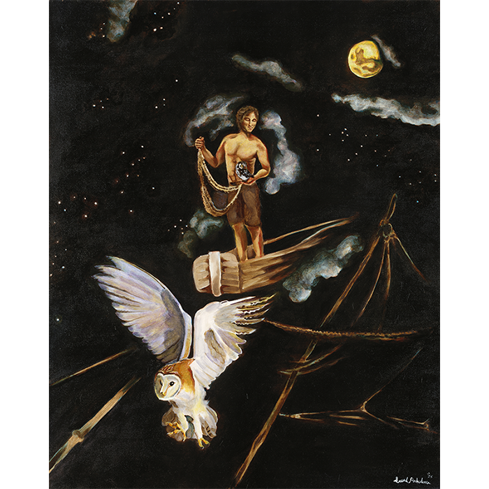 image of Fishing for Owls by Sarah Rocheleau