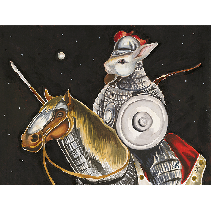 image of Jade Rabbit in Armor by Sarah Rocheleau